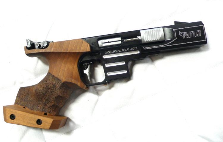 CTMC 25m pistolet Pardini